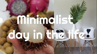 MINIMALIST FAMILY DAY IN THE LIFE VLOG home inprovment project