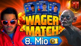 FIFA 15 WAGER MATCH #11 : 8.000.000 COINS !! [FACECAM] HD