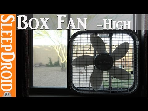 🔴 10 Hours of BOX FAN sound on HIGH Speed ~Relaxing Sleep Sounds (Som de ventilador) SleepDroid