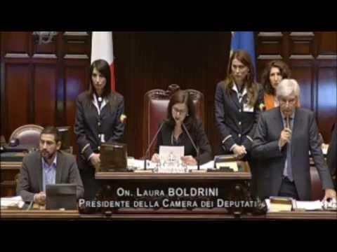 La Boldrini censura il M5S