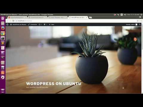 Setup wordpress linux