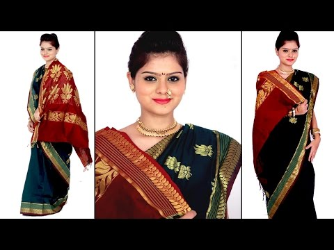 How to Drape a Saree: Maharashtrian Style