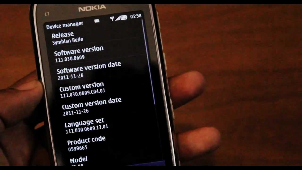 Nokia C7 Official Symbian Belle Update