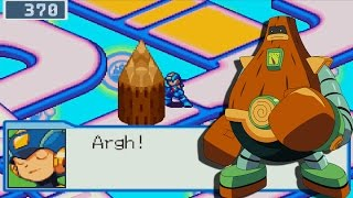 Mega Man Battle Network 4 - Wii U - Did Capcom Fix WoodMan's Scenario?