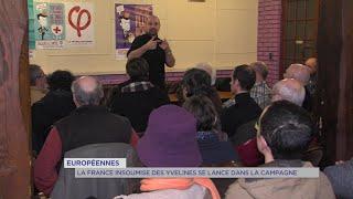 Yvelines | Européennes : La France insoumise des Yvelines se lance dans la campagne