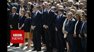 Silence observed in Barcelona - BBC News