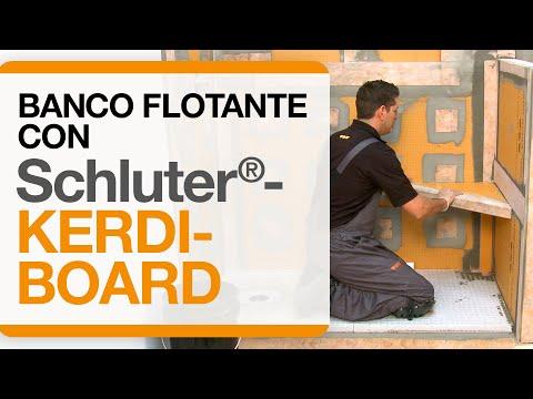 Schluter®-KERDI-BOARD: Banco flotante