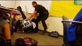 'License to brutalize': US cop slamming black student in South Carolina