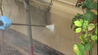 Stone and render cleaning by Premier Clean Cotswolds Ltd - 0800 058 8282