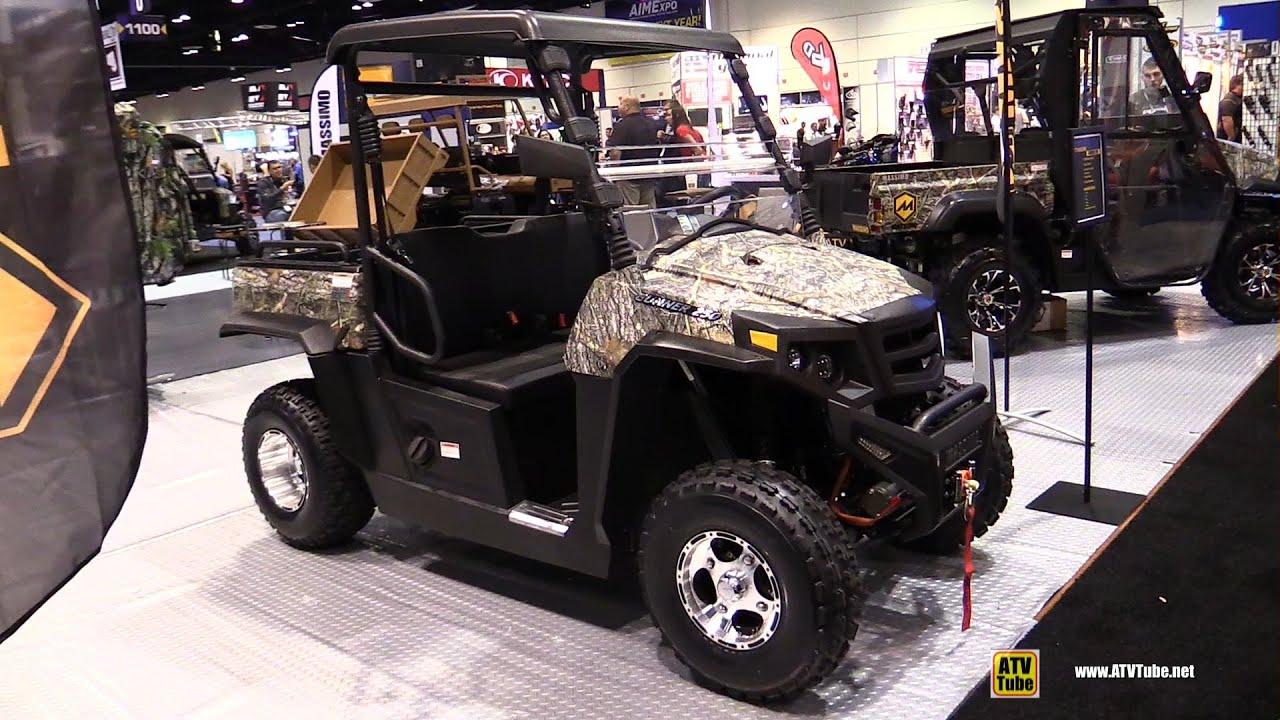 2016 Massimo Gunner 250 Utility ATV - Walkaround - 2015 AIMEXPO Orlando