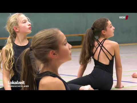 Vorbereitung auf Weltmeisterschaft im Jazz- und Modern Dance beim ASV Wuppertal