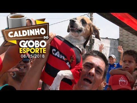 HD | Caldinho do GE de 08/05/2018 (Buraco da Véia - Brasília Teimosa) - Globo Esporte PE