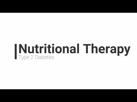 Nutritional Therapy For Type 2 Diabetes