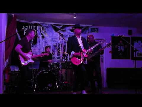 "Live ""House Of Blues"" Marcus Malone Band at Saltburn Cricket Club 29th April 2017"