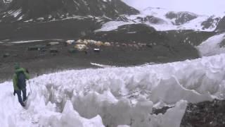 「Aconcagua Day 9/23」アコンカグア Canada Camp(C1) カナダキャンプ5050m ◆着用メガネ「Factory」エベレストに行ってきます!506/1000 16/1/25