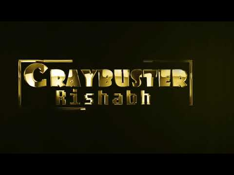 Free Template Golden Plated Text Animated Logo With waves intro || Craybuster