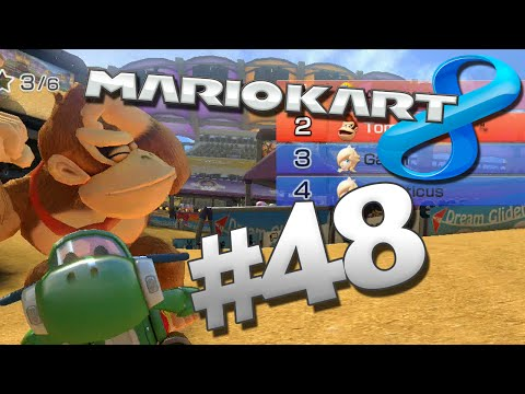 A Lovely Tour Through Toad Harbor - Mario Kart 8: Part 48 (w/ The Derp Crew)
