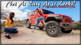 Desert Rock Crawling! // Jeep Rubicon 2.0 Turbo Off-Road Review