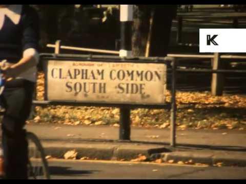 1970s Clapham, London, Super 8 Home Movies