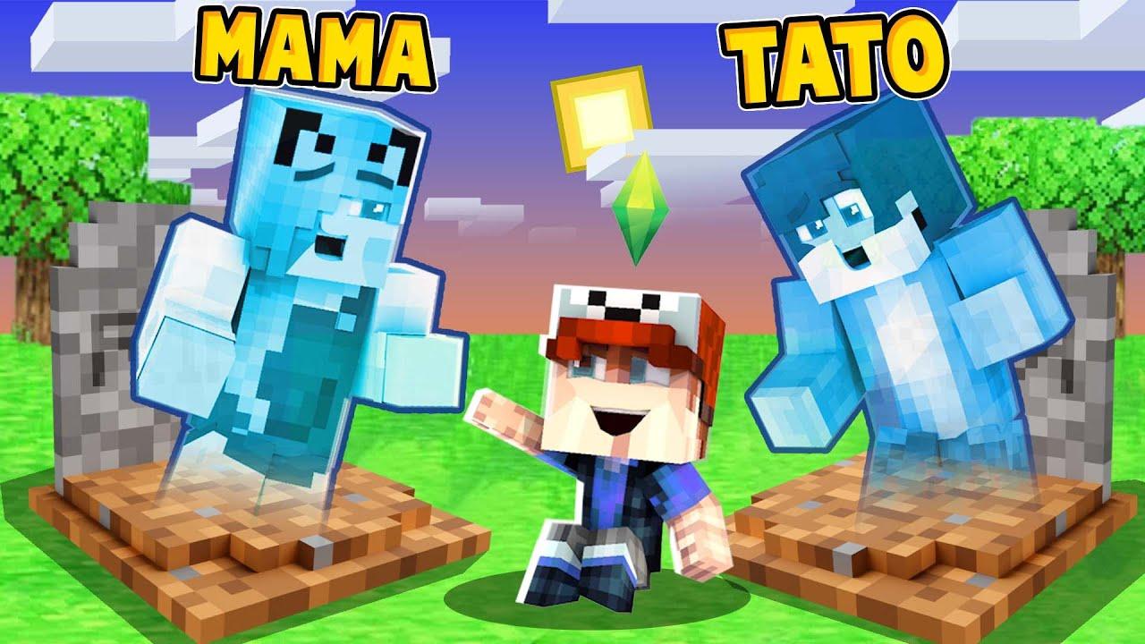 ZOSTAŁEM ADOPTOWANY PRZEZ DUCHY! (Minecraft Roleplay) | Vito i Bella