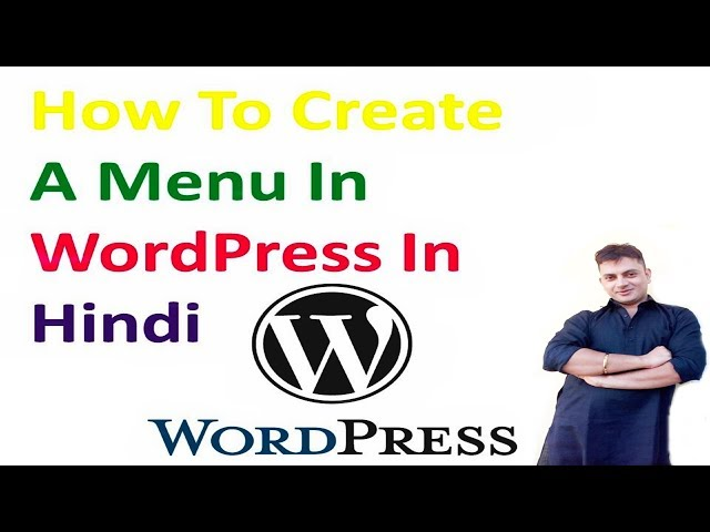 How To Create A Menu In WordPress In Hindi | Pawan Web World
