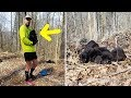 Two Trail Runners Heard A Rustling Noise In The Forest – Then Found Five Frightened Creatures