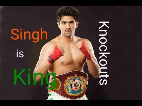 Top 5 Vijender singh Knockout | Including Francis Cheka