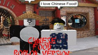 Alison Gold- Chinese Food (ROBLOX Music Video)
