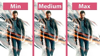 Quantum Break – PC Min vs. Medium vs. Max + Details Graphics Comparison