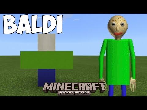 How To Summon BALDI's BASICS | Minecraft Pocket Edition