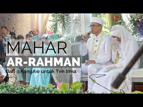 MASYA ALLAH !! MAHAR AR-RAHMAN, RATUSAN TAMU YANG HADIR IKUT TERHENYAK