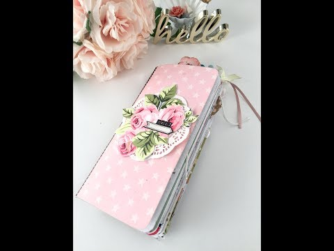 Traveler's notebook flip through