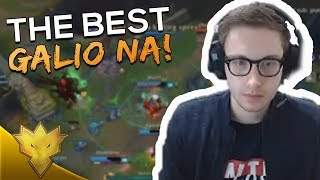 "TSM Bjergsen - ""THE BEST GALIO NA"" - League of Legends Funny Stream Moments & Highlights"