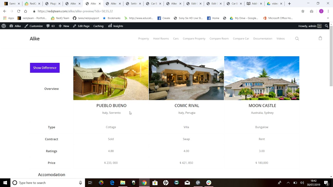Alike Preview | WordPress Custom Post Comparison Plugin - YouTube