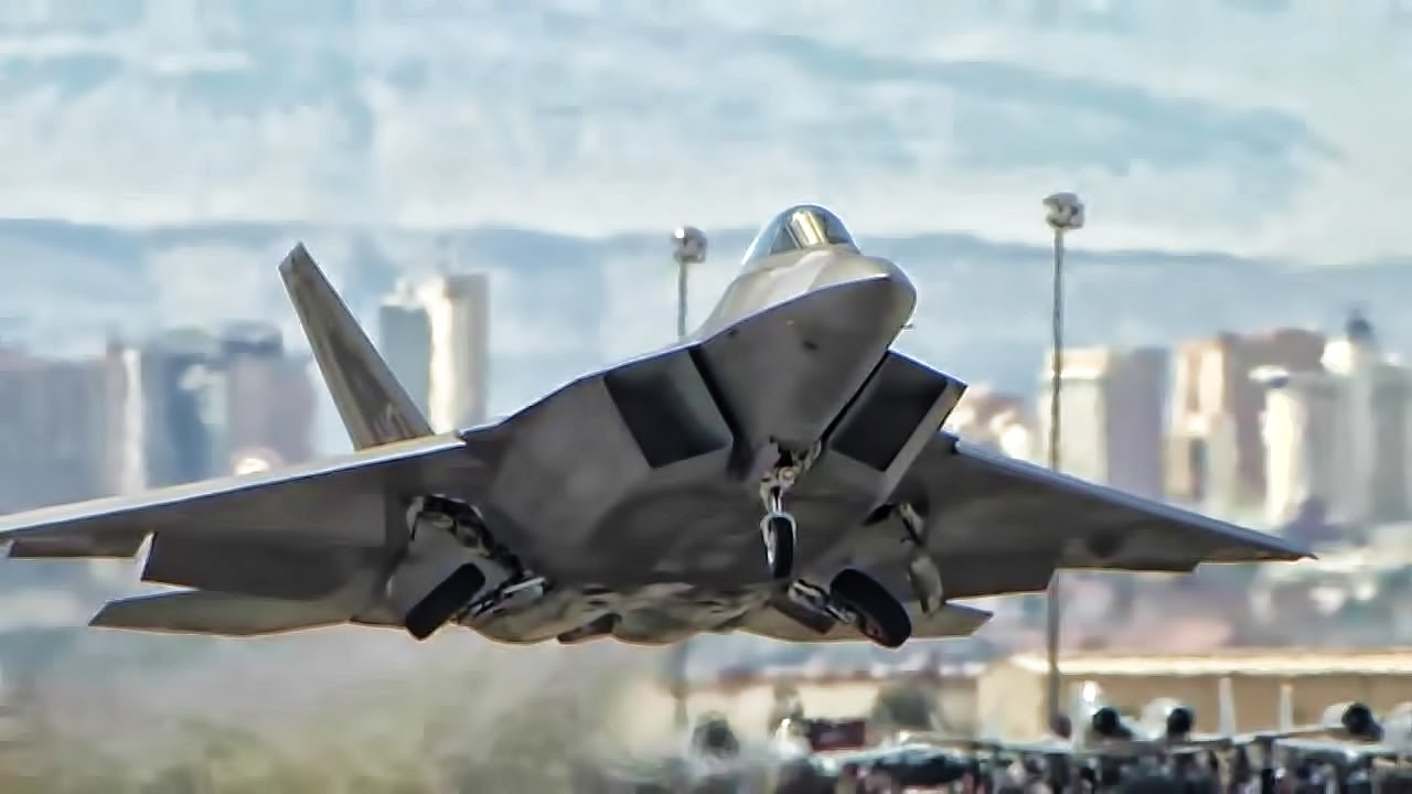 f 22 raptor most lethal fighter jet in the sky youtube