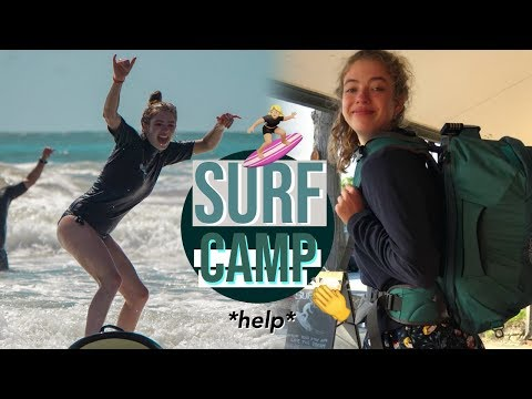 I *kinda* Learned How to Surf!! Spot X and Yamba Australia Backpacking Vlog ✨