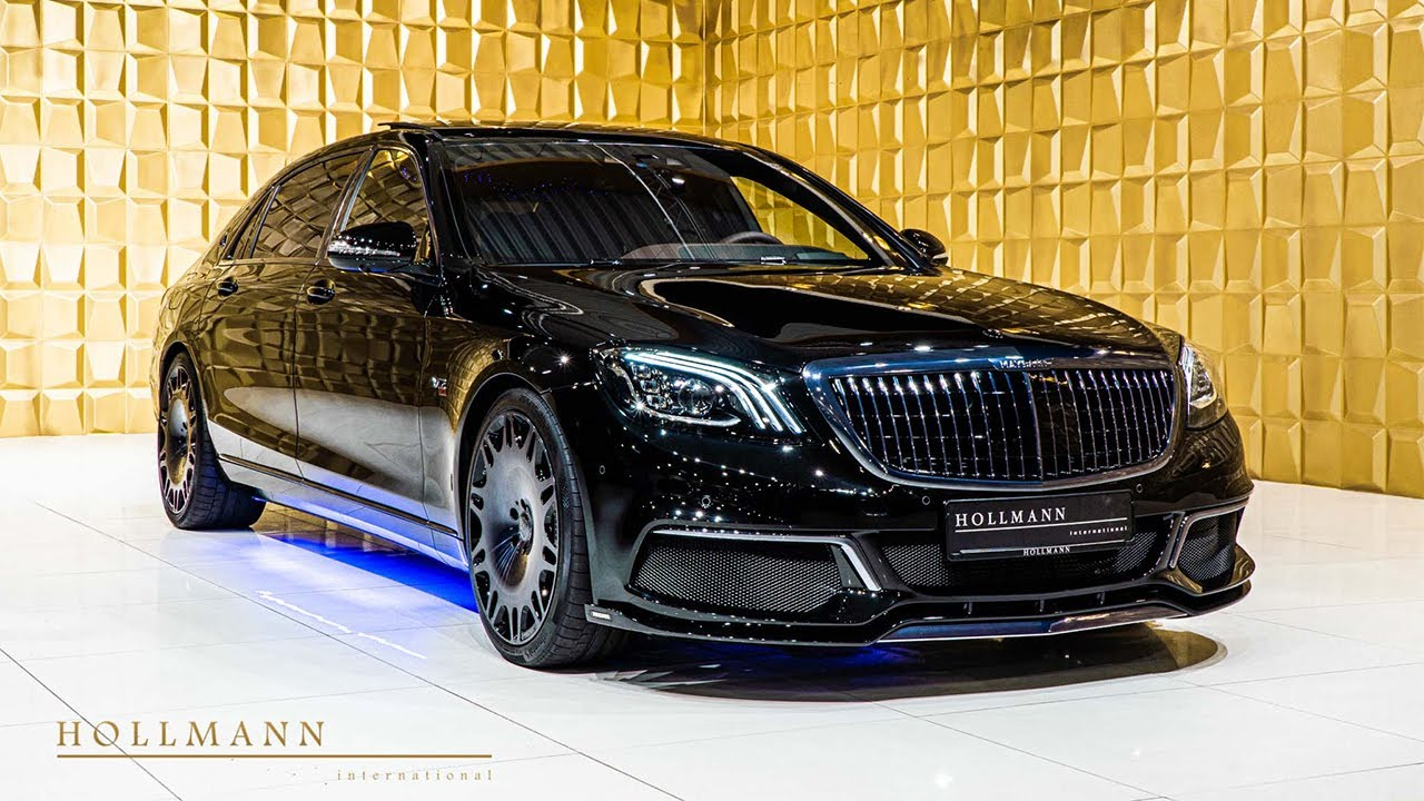 Mercedes-Maybach S 650 BRABUS 900 Close up - YouTube
