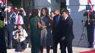 State Arrival Ceremony for Prime Minister Renzi