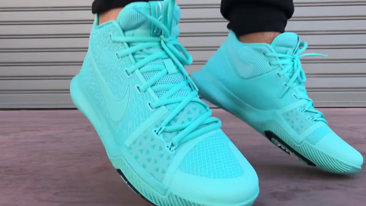 Nike KYRIE 3 Aqua | Cosmos Sport - YouTube