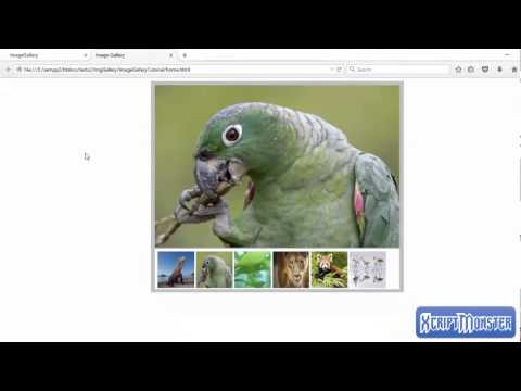 Image Gallery Tutorial 2 - using PHP to load images dynamically