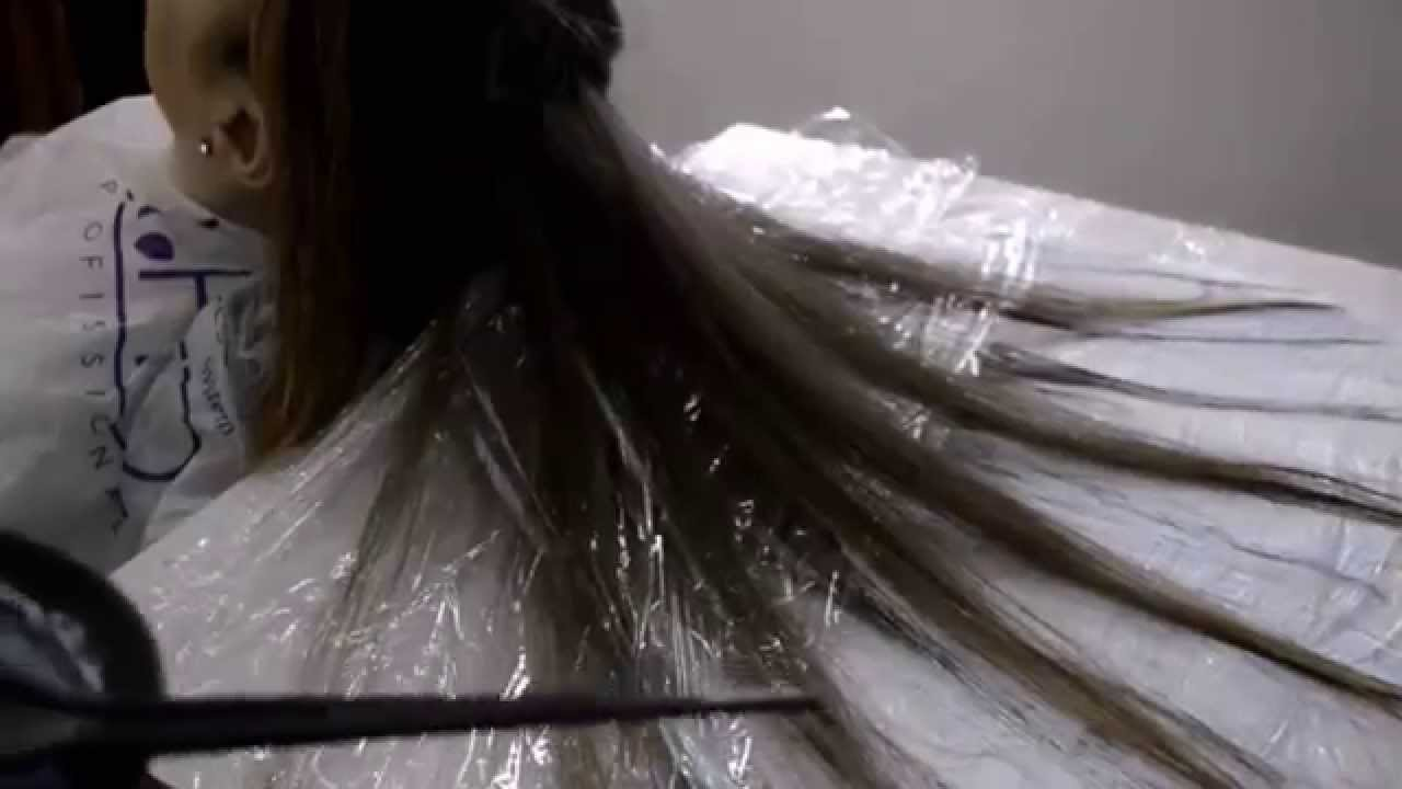Como feito o cabelo fluid hair painting sensacional for Fluid hair painting