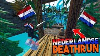 NEDERLANDSE DEATHRUN MAP! - Fortnite Creative met Link