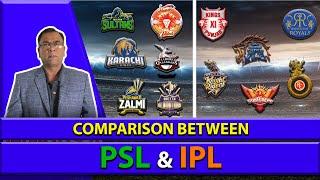 Comparison between PSL & IPL | Basit Ali
