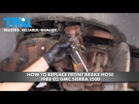 How to Replace Front Brake Hose 1988-02 GMC Sierra 1500