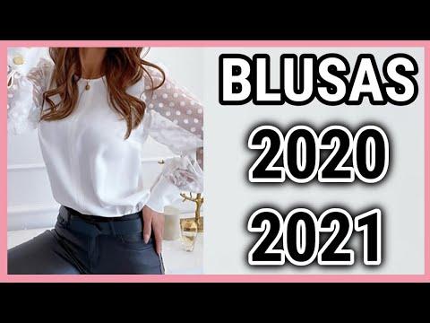 BLUSAS De MODA 2020 / 2021 / Las Blusas En Tendencia De Moda Mas Bonitas Y Elegantes / Fashion Love