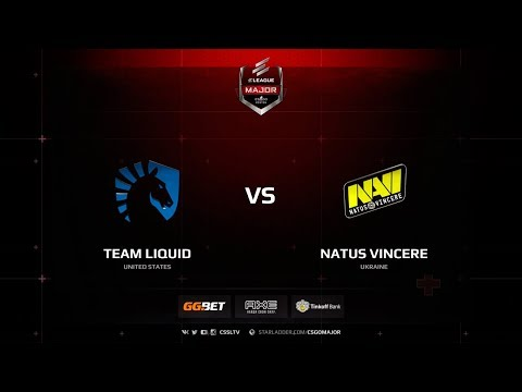 Liquid vs Natus Vincere, ELEAGUE Major Boston 2018 Main Qualifier