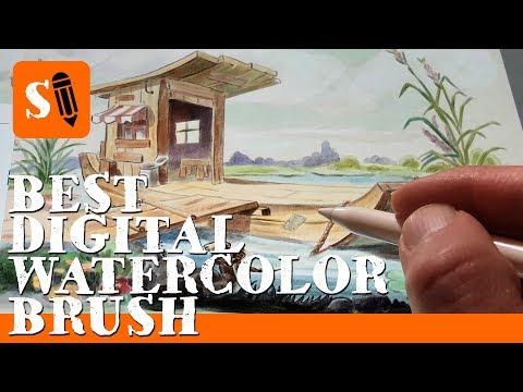 Best Digital Watercolor Brush