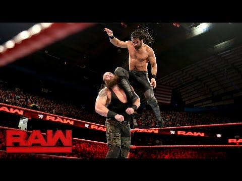 Thumbnail: Seth Rollins vs. Braun Strowman: Raw, Dec. 26, 2016
