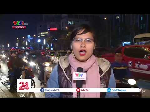 Tắc đường - Ác mộng của người dân Hà Nội và TP.HCM những ngày cận tết - Tin Tức VTV24