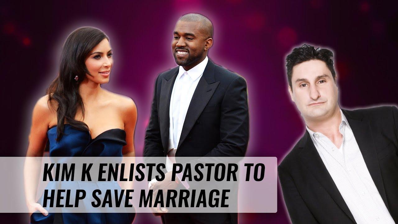 Kim Kardashian Enlists Pastor To Help Save Marriage | Naughty But Nice